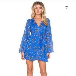 Free People | Lilou Printed Floral Dress Size XS